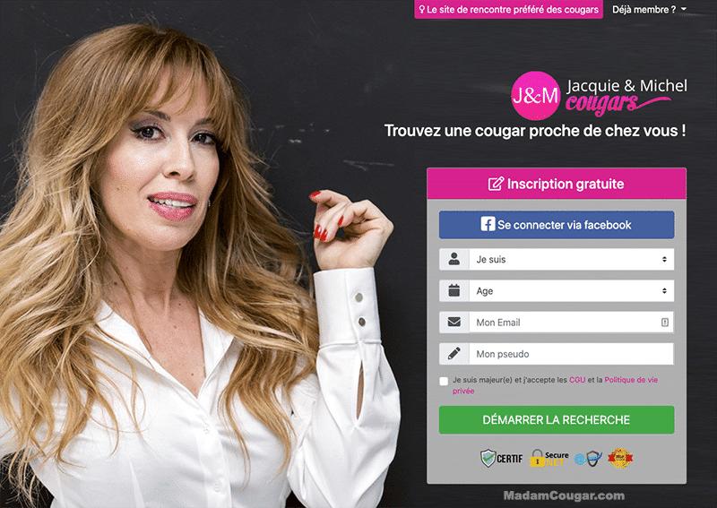 Jacquie et Michel Cougars : site le plus populaire pour rencontrer des femmes matures